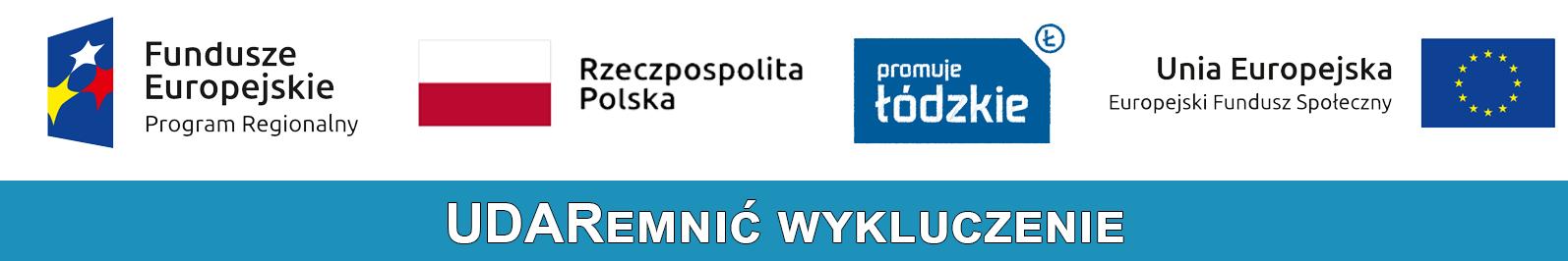 Logo projektu unijnego - Udaremnić wykluczenie
